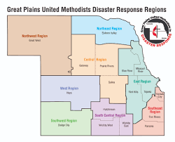 Map Topeka Ks Disaster Response