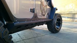jeep rock crawler flex rock sliders the ultimate rock rash protection rock rage off