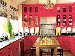 Red And Black Kitchen Cabinets Red And Black Kitchen Cabinets Fabulously Finished