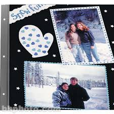 magnetic photo album acid free pioneer magnetic scrapbook refill pages b h photo