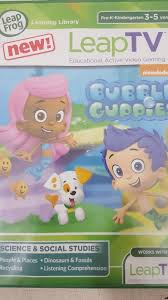 leapfrog leap tv nickelodeon bubble guppies video game brand new