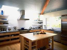 Kitchen Island With Open Shelves Seeing Clearly Myhomeideas Com