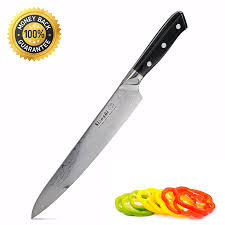 review sicoshi 9 5 inch chef knife vg10 damascus kitchen knives