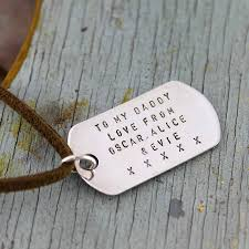 dog tag jewelry engraved personalised dog tag necklace by posh totty designs