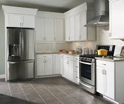 What Is The Best Finish For Kitchen Cabinets The Purestyle Finish On These Brellin White Laminate Kitchen