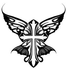 cross butterfly design by feiterry on deviantart