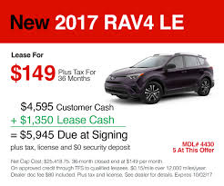 toyota dealer in new toyota rav4 in 94568 lease offers for the toyota dealer in