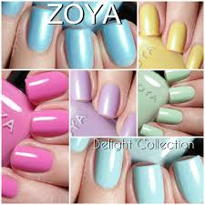 zoya delight collection for spring 2015 swatches and review