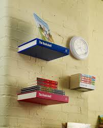interior simple lovely floating book shelves design ideas custom