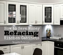 is cabinet refacing cheaper how refacing kitchen cabinets can be inexpensive