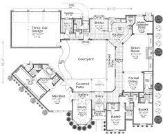 Home Plan Com Luxury Modern Courtyard House Plan Courtyard House Courtyard