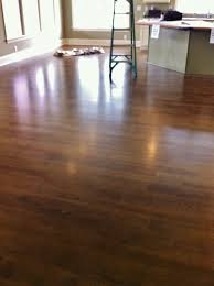random width hickory hardwood floors that been stained