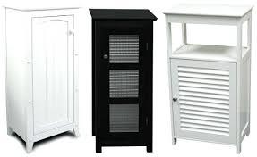 Bathroom Floor Storage Cabinet Bathroom Storage Cabinet White Teescorner Info