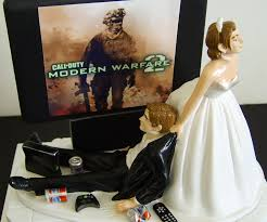 gamer wedding cake topper junkie wedding cake topper dudeiwantthat