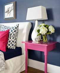 Dark Pink Bedroom - dark walls to warm you up april force pardoe interiors