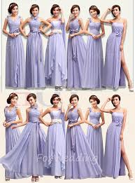 lavender bridesmaids dresses lavender bridesmaid dress in styles by foxwedding on