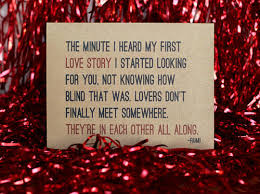 Wedding Quotes Rumi Rumi Quote Lovers Don U0027t Finally Meet Somewhere They Are In Each