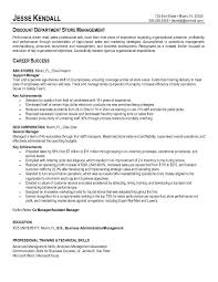 Sample Resume For Assistant Manager by Best Store Manager Resume Example Recentresumes Com