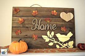 craftacular diy thanksgiving wooden sign