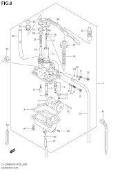 2006 suzuki lt z50 quadsport carburetor parts best oem