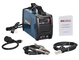 160 amp stick arc welder inverter dc welding 110 230v dual input