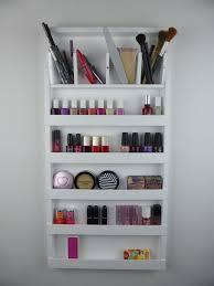 white make up organizer storage pencil brush lipstick