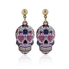 halloween earrings popular skull earrings buy cheap skull earrings lots from china