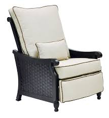 Recliner Patio Chair Leona Jakarta 3 Position Recliner Patio Chair With Cushions