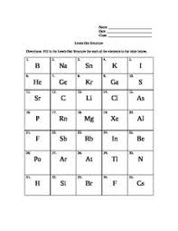 lewis structure worksheet free worksheets library download and