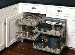 Storage Solutions For Corner Kitchen Cabinets Kitchen Corner Cupboard Solutions Corner Cupboard Storage