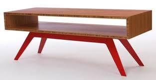 modern wood coffee table the sleek and modern elko coffee table