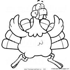 thanksgiving turkey football clipart 50