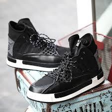 Most Comfortable Mens Boots Fashion Shoes Men Y3 High Top Mens Shoes Men Rubber Boots