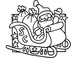 coloring pages santa claus kitty cartoon coloring