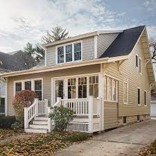 hardieplank siding woodland cream senior living pinterest