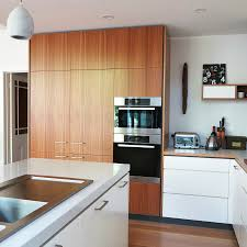 Timber Kitchen Designs This Cantilever Kitchen Design Makes The Most Of The High Ceilings