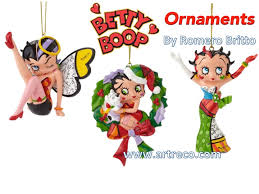 betty boop ornaments by britto archives artreco