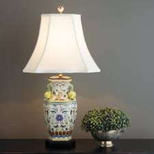 Urn Table Lamp Elegant Pomegranate Handle Urn Table Lamp Shades Of Light