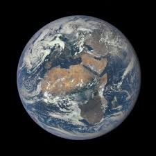image of africa and europe from a million away nasa