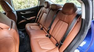 maserati levante back seat maserati ghibli diesel 2016 review by car magazine