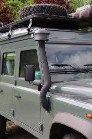 land rover snorkel outside 4 wheel nomads