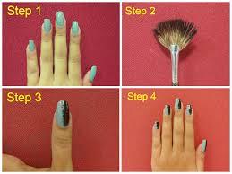 diy nail art thin strip manicure idiva