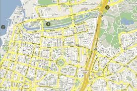 tel aviv yafo map