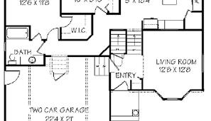 side split house plans split entry house plans luxamcc org
