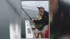 houston boy 6 hooks great white shark while fishing off cape cod