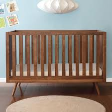 nifty timber crib and nursery necessities in interior design guide