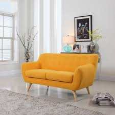 mid century modern love seat living room furniture assorted