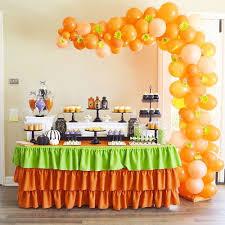 halloween little pumpkin baby shower party ideas pumpkin