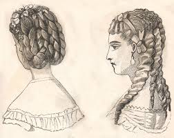 hair style of 1800 the vintage moth vintage hairstyles