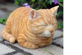 24 cat garden statues for a purrific garden and lawn this summer